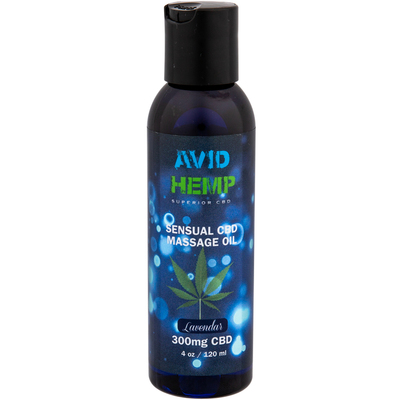 Avid Hemp Sensual CBD Massage Oil