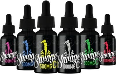Savage CBD Products Logo
