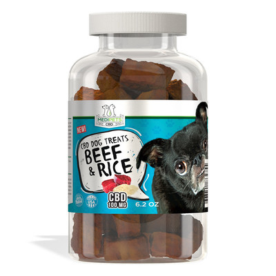 Medipets CBD Beef and Rice Treats