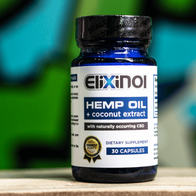 Elixinol Hemp Oil + Coconut Oil
