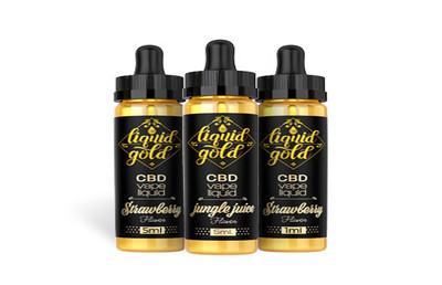 Liquid Gold | CBD Products logo
